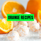 Orange Recipes icon