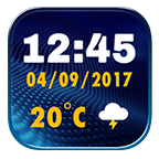 Best Digital Clock Widget APK