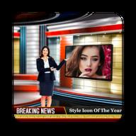 Breaking News Photo Frame APK